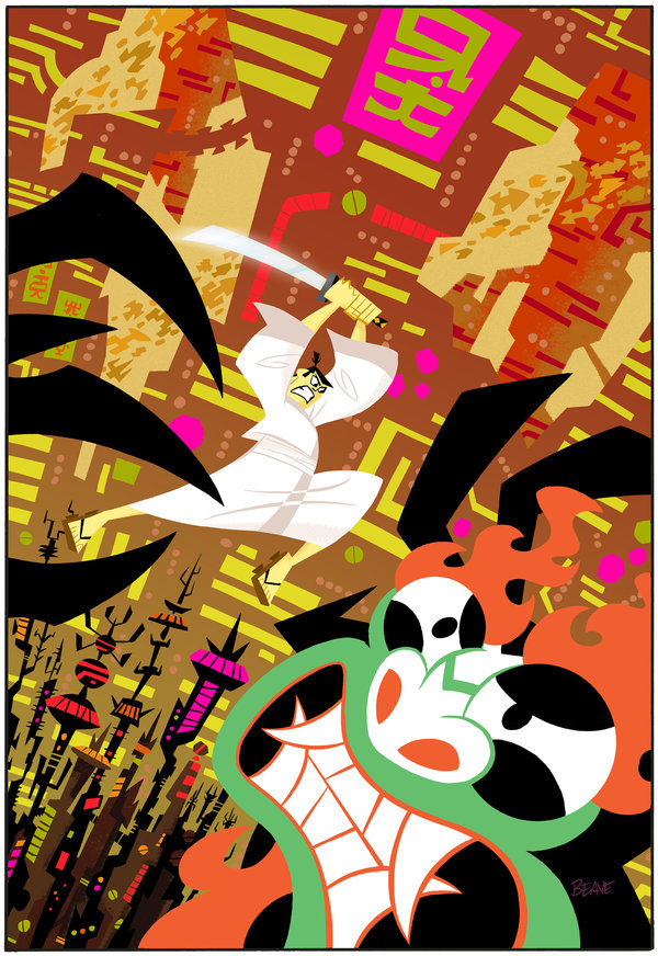 samurai_jack__1_exclusive_cover_by_cretineb-d6tdn5z