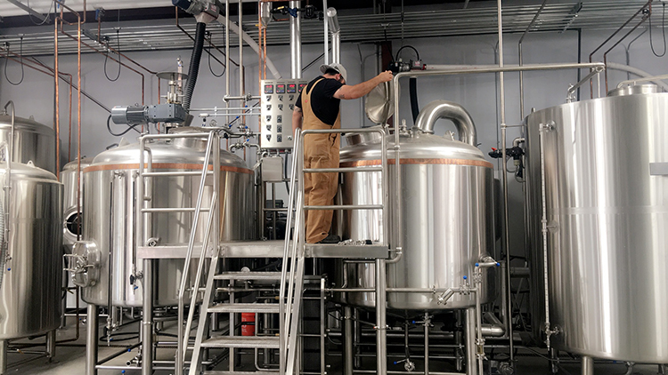 Sustainability at Blaker Brewery